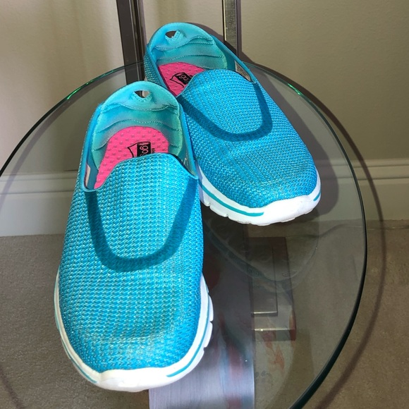 Skechers Shoes   Go Walk 3 Turquoise